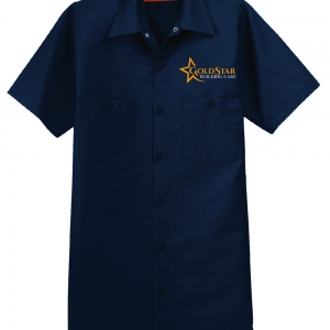 Gold Star Building Services | Gold Star Building Services Embroidered Logo