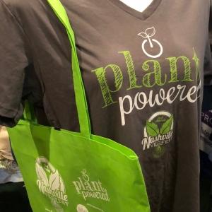 Nashville VegFest | Plant Powered Shirt  Bag