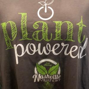 Nashville VegFest | Plant Powered Shirt