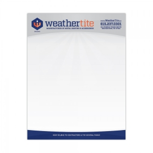 Letterhead | WeatherTite