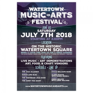 Poster | Watertown Music & Arts Festival