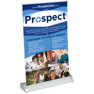 Table Top Retratable Banner | Prospect, Inc.
