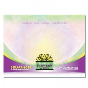 4x3 Sticky Note | Sticky Note layout for Sunshine Flowers