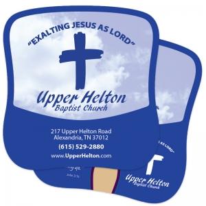 Hand Fans | Hand Fans for Upper Helton Baptist Church