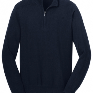 Quarter Zip Sweater |