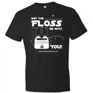 Patriot Dental | May the Floss be With You design