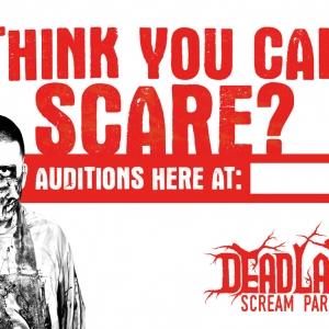 Dead Land Scream Park | Yard Sign Design