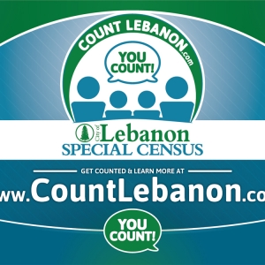 Lebanon Special Census | Yard Sign Design