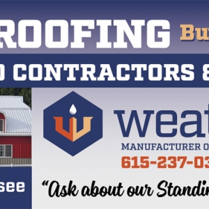 WeatherTite Metal Roofing | Billboard Design