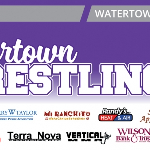 Watertown Wrestling | Banner Design