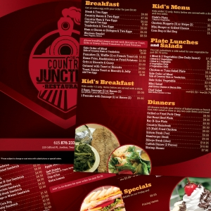 Country Junction | Multi Page Menu