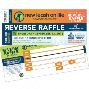 Event Tickets | New Leash On Life  Reverse Raffle