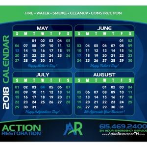 Mouse Pad | Action Restoration Calendar Mouse Pad