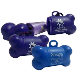 Doggie CleanUp Bag Dispenser | Pinnacle Bank & Downward Dog Holistic Grooming